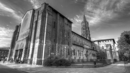 Basilique_Saint-Sernin_-_2012-04-30_-_BW - Kopie